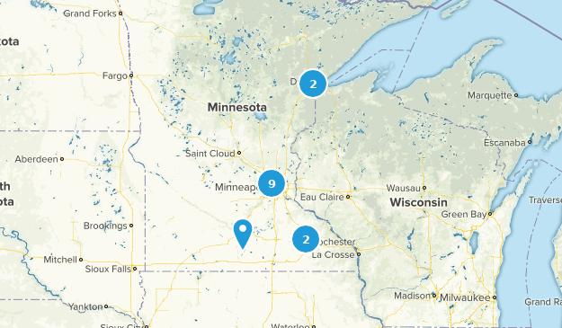 Minnesota City Walk Map