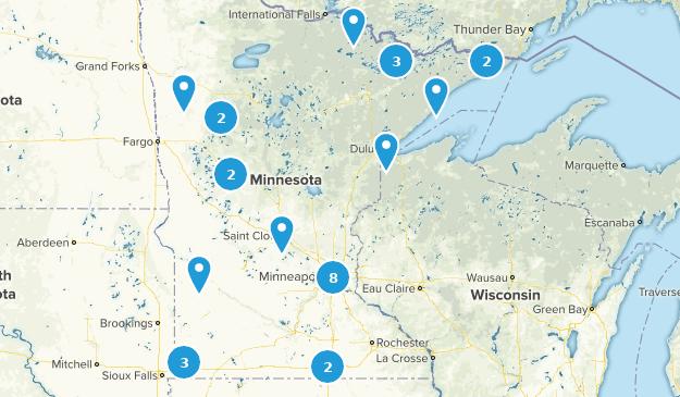 Minnesota Fishing Map