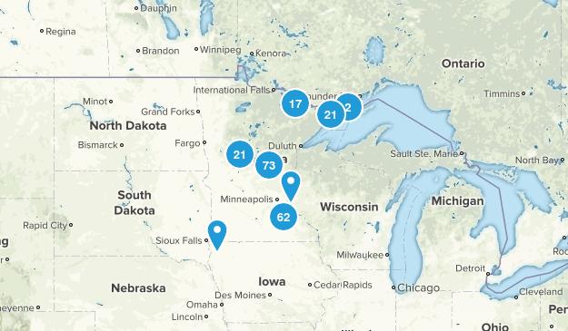 Minnesota Lake Map