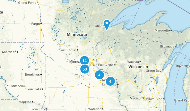 Minnesota Local Parks Map