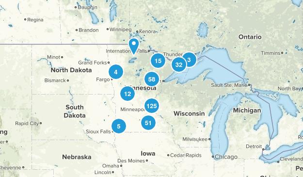 Minnesota Nature Trips Map