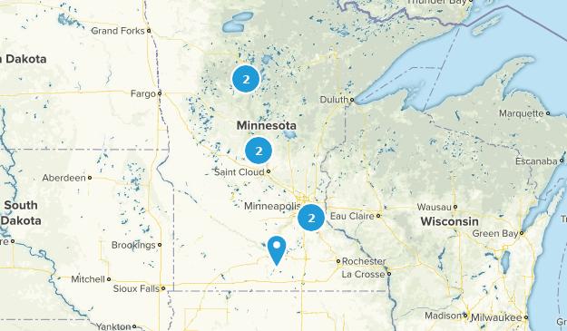 Minnesota Rails Trails Map