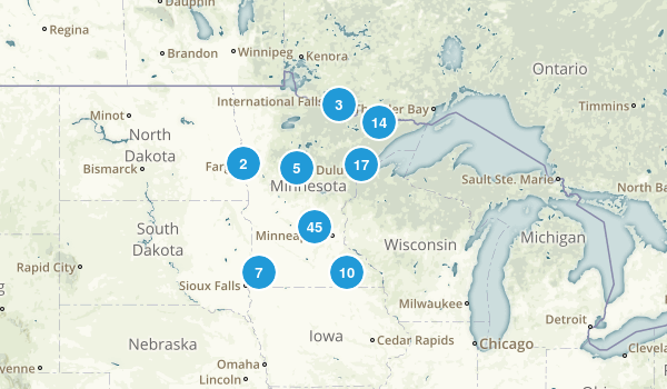 Minnesota River Map
