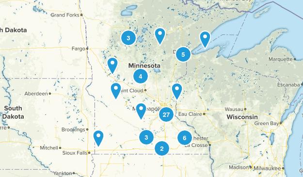 Minnesota Road Biking Map