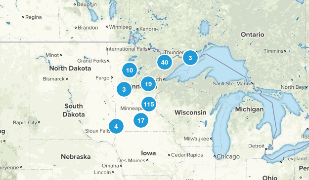 Minnesota Wildlife Map
