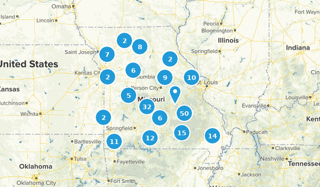 Missouri Camping Map