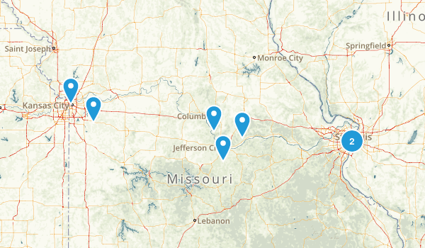 Missouri City Walk Map