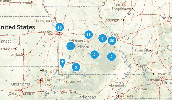 Missouri Road Biking Map