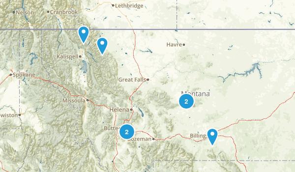 Montana Cave Map