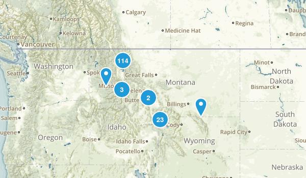 Montana No Dogs Map