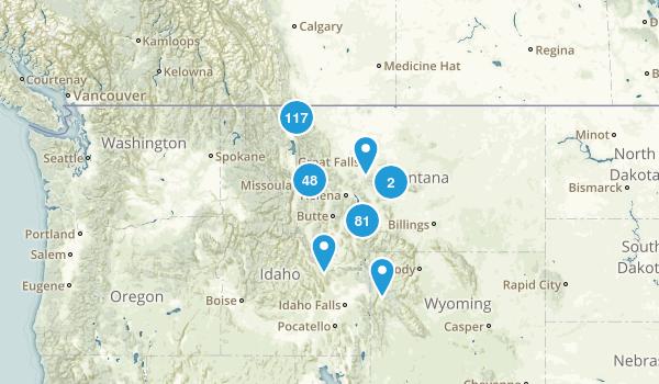 Montana Lake Map