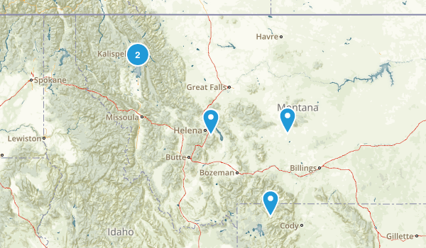 Montana Paddle Sports Map