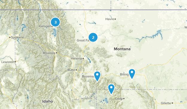 Montana Road Biking Map