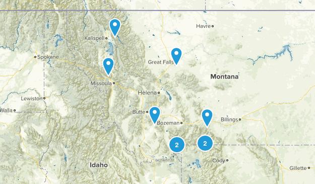 Montana Scenic Driving Map