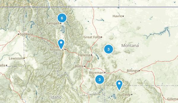 Montana Skiing Map