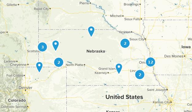 Nebraska Wheelchair Friendly Map