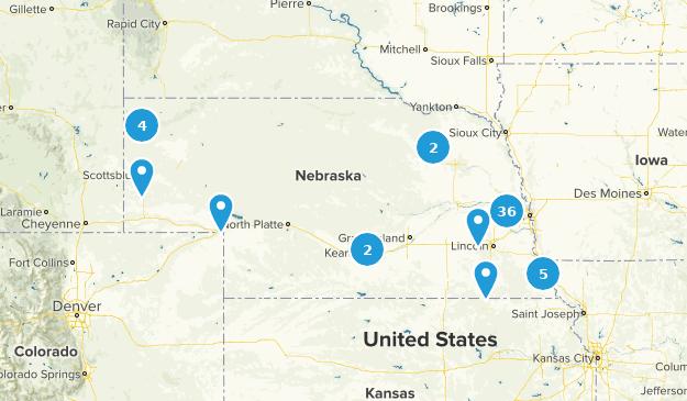 Nebraska Birding Map