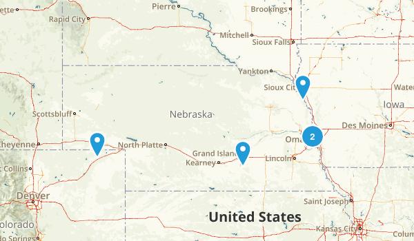 Nebraska City Walk Map
