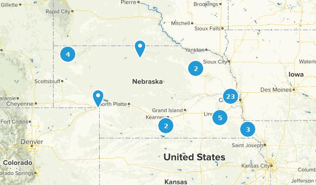 Nebraska Forest Map