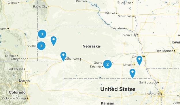 Nebraska Historic Site Map