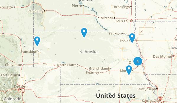 Nebraska Paddle Sports Map