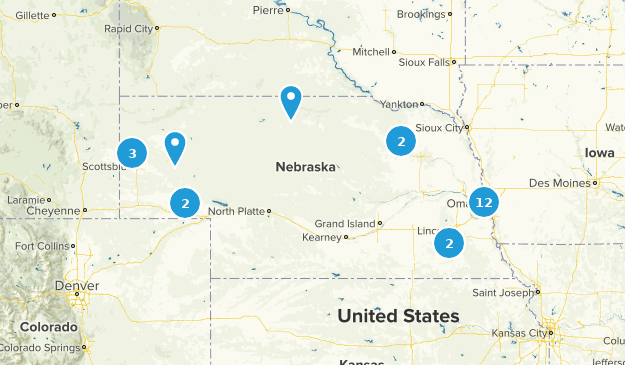 Nebraska Stroller Friendly Map