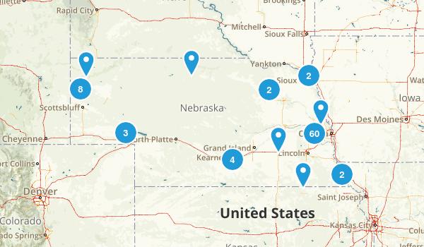 Nebraska Walking Map