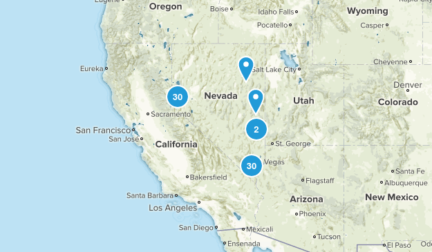 Nevada State Parks Map