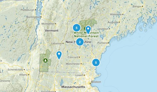 New Hampshire Beach Map