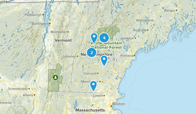 New Hampshire Cave Map