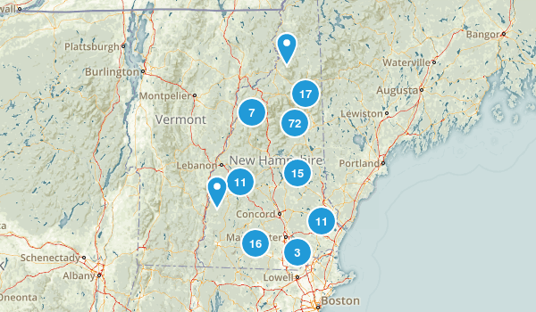 New Hampshire Dog Friendly Map