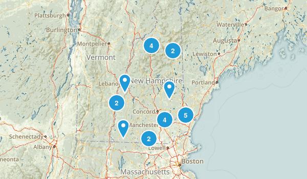 New Hampshire Fishing Map
