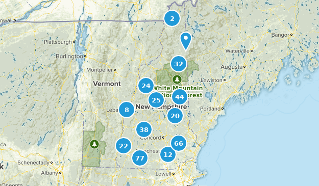 New Hampshire Kid Friendly Map