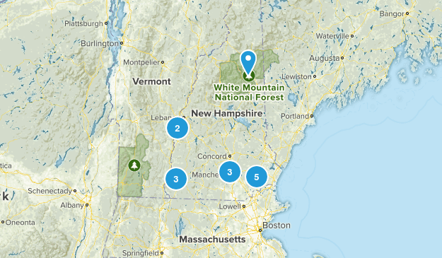 New Hampshire Local Parks Map