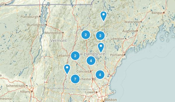New Hampshire Paddle Sports Map