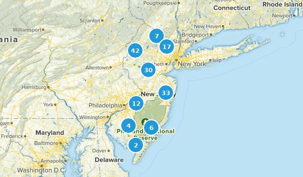 New Jersey Mountain Biking Map