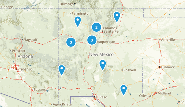 New Mexico Wheelchair Friendly Map