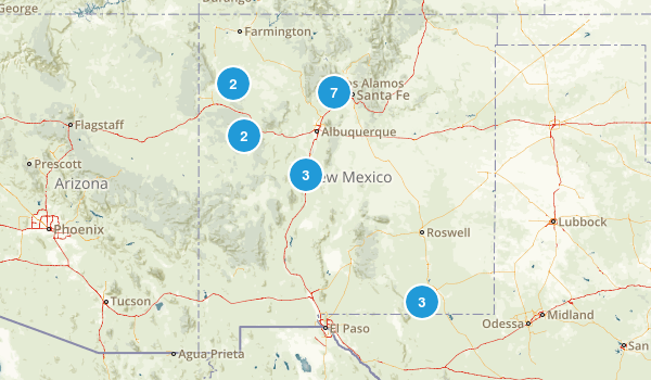 New Mexico Cave Map