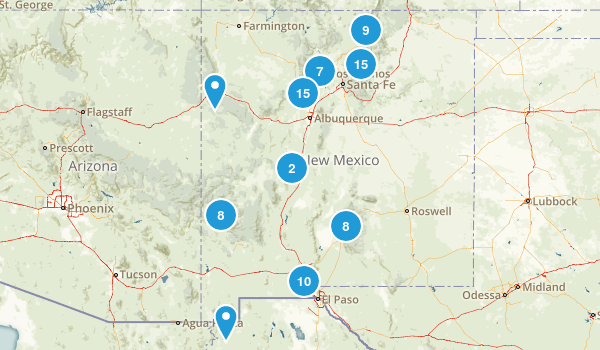 New Mexico Dog Friendly Map