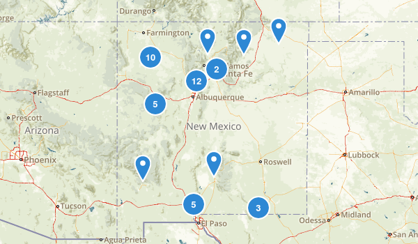 New Mexico No Dogs Map