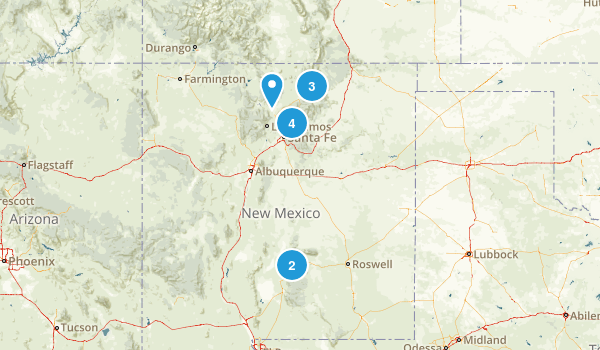 New Mexico Fishing Map