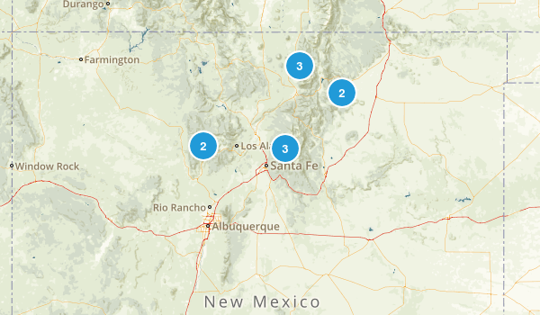 New Mexico Fly Fishing Map