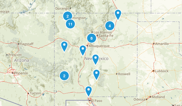 New Mexico Historic Site Map