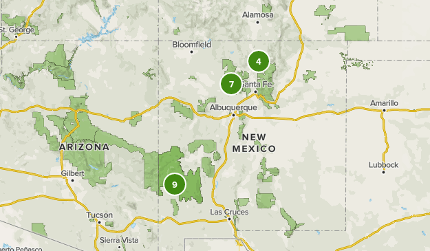 Hot Springs In New Mexico Map Best Hot Springs Trails in New Mexico | AllTrails