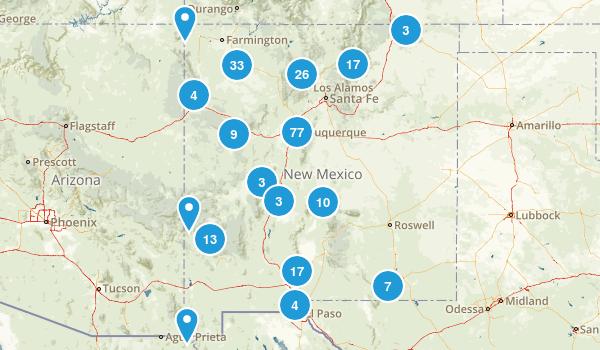 New Mexico Kid Friendly Map