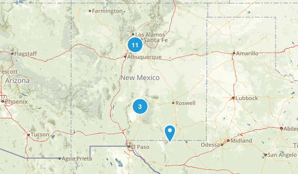 New Mexico Local Parks Map