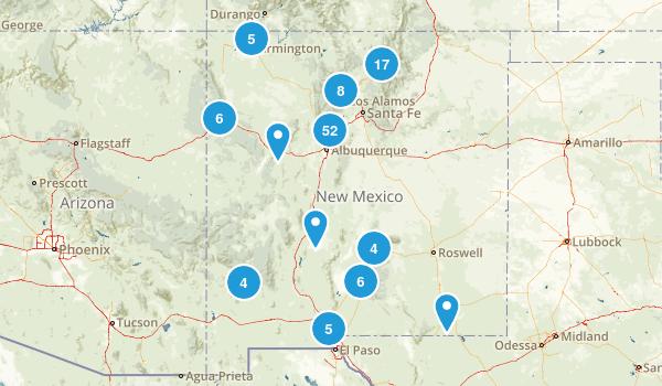 New Mexico Mountain Biking Map