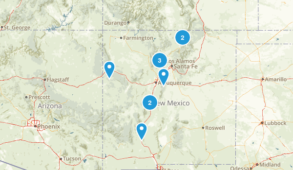 New Mexico Off Road Driving Map