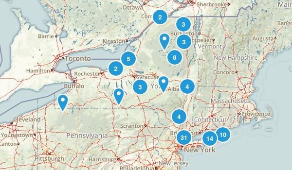 New York Beach Map