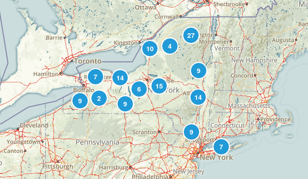 New York Paddle Sports Map